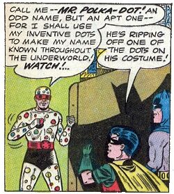 波爾卡圓點人Polka-Dot Man