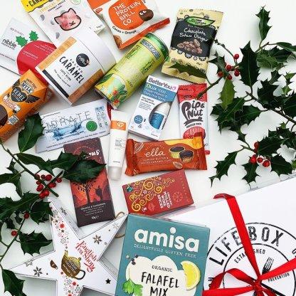Lifebox December gluten free snacks