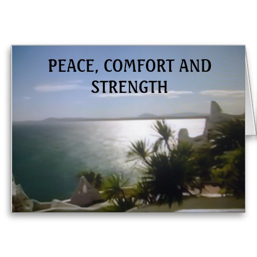comfort, peace, strength, stressed