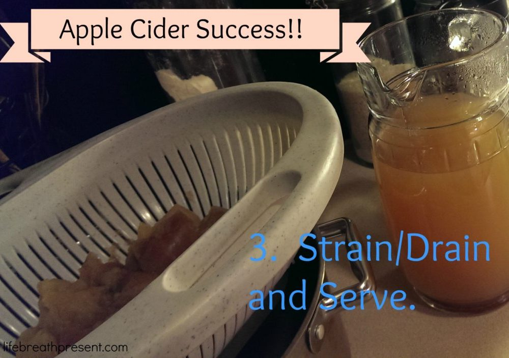 Apple Cider – I Did It!