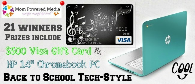 back to school, giveaway, chromebook, pc, visa gift card