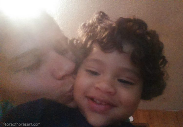 unedited, photos, photography, week in review, mom kissing baby, selfie, fun, playing