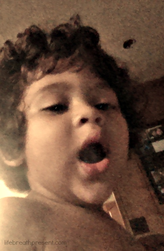 selfie, baby, growing up, growing, family, fun, 17 months, silly