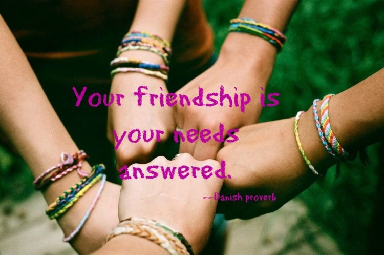 friendship, friendship quote, danish proverb