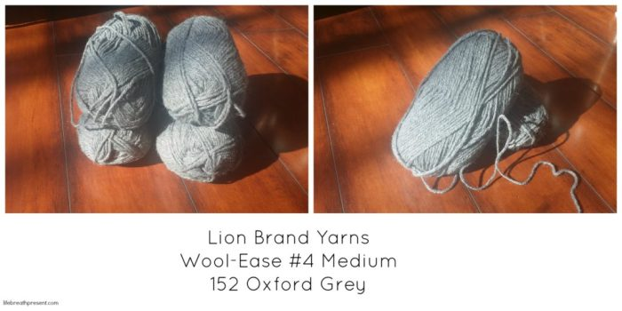 yarn, lion brand, slippers, grey, diy, crafts, crochet,