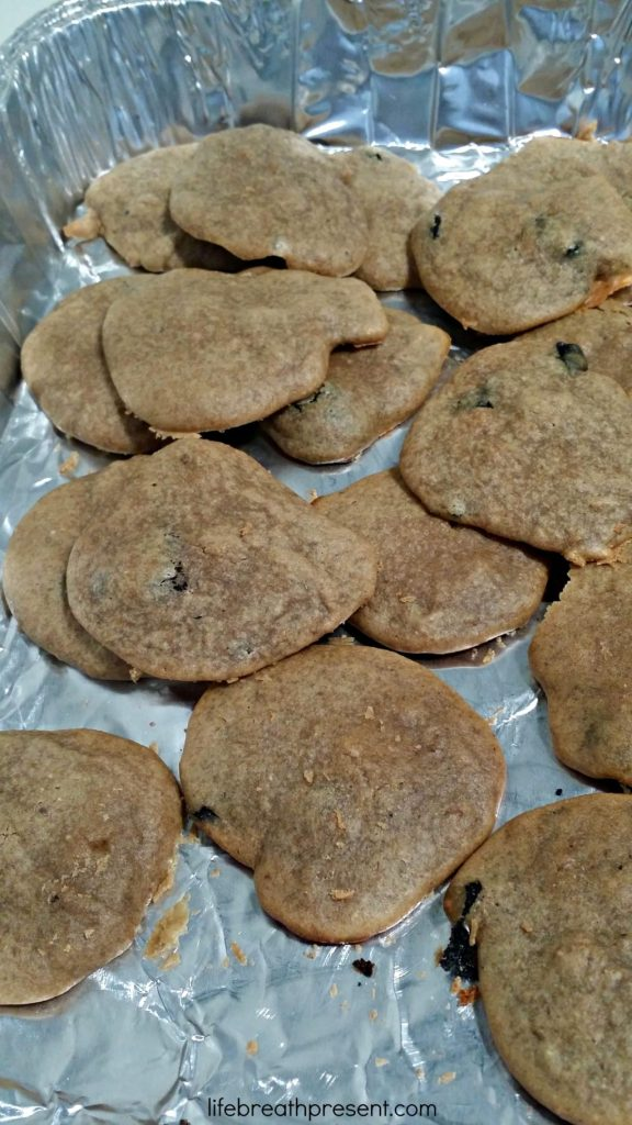 peanut butter, banana, paleo, gluten free, flourless, cookies, chocolate chips, homemade, healthy, recipe links