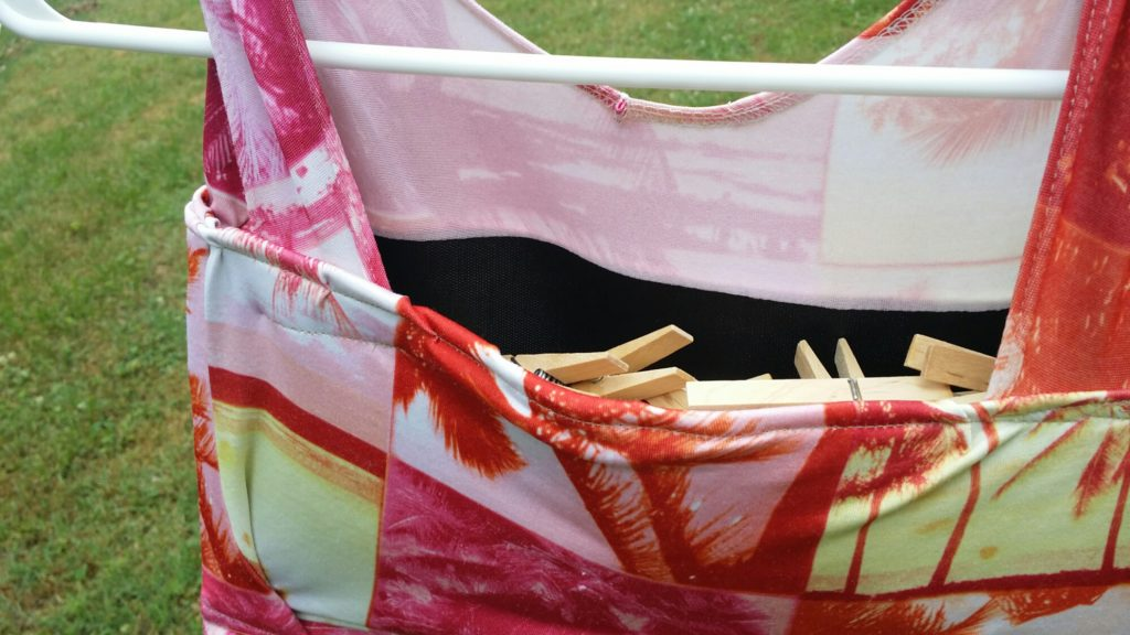 A Quick Sewing Project - Clothespin Bag