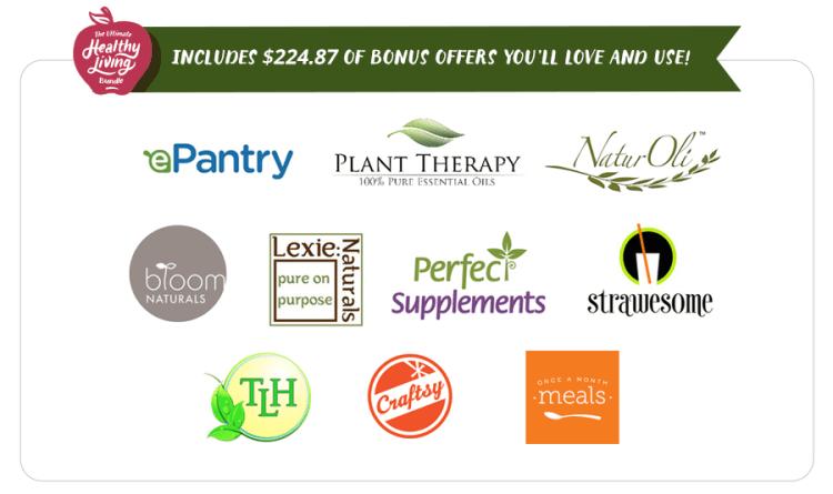 ultimate healthy living, 2015, bundle, bonuses, promotion