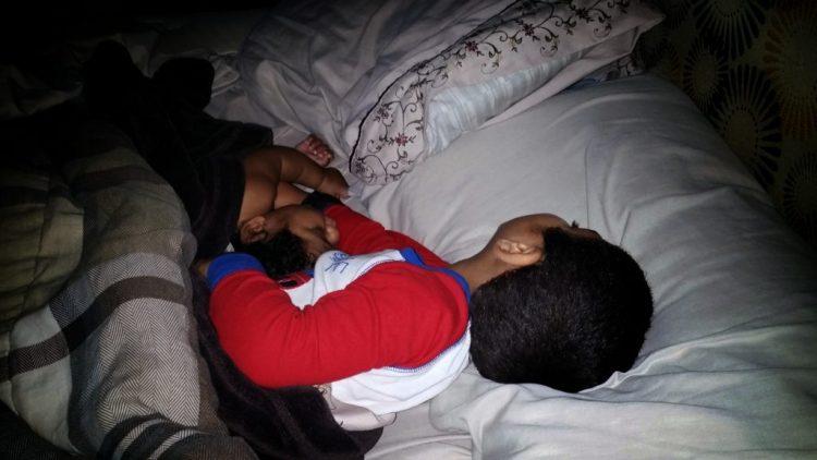 sleeping, boys, brothers, family, love