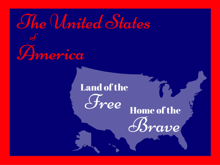 usa, independence day, 4th of july, summer, printable, free, land of the free, home of the brave