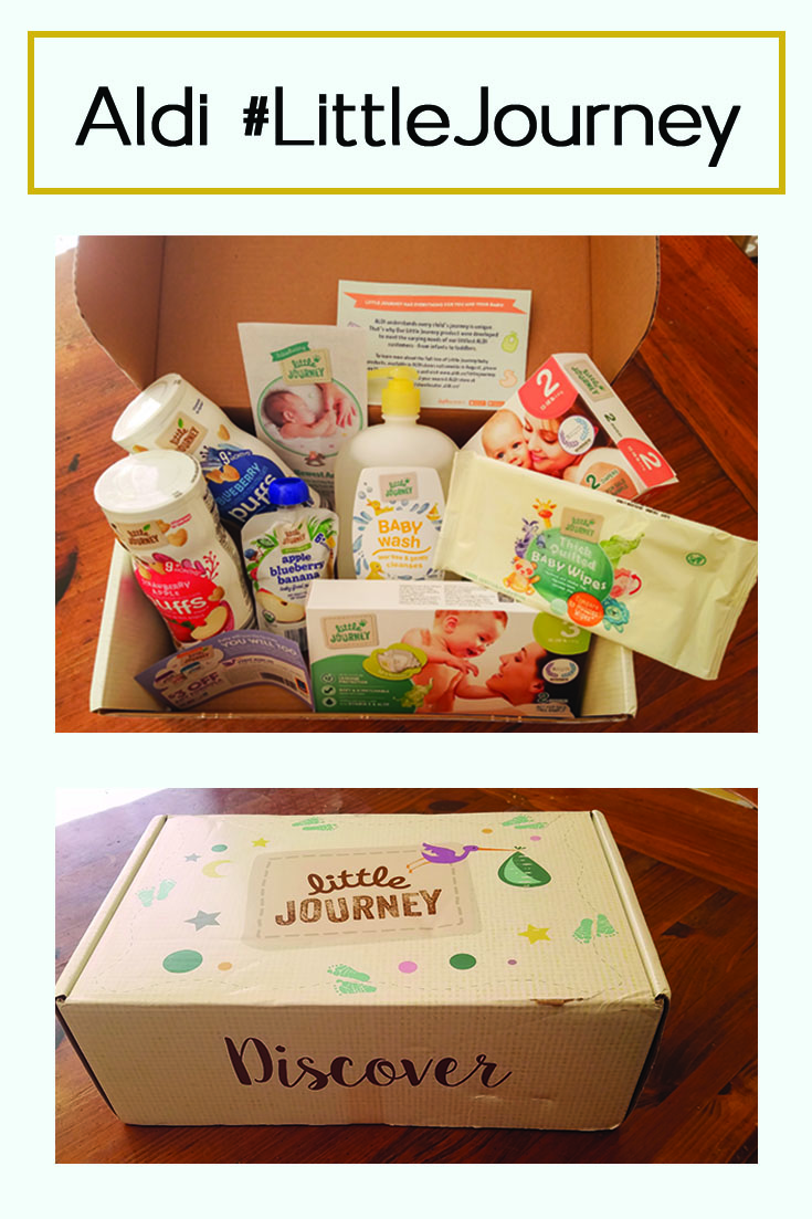 influenster, aldi, voxbox, baby, products, littlejourney