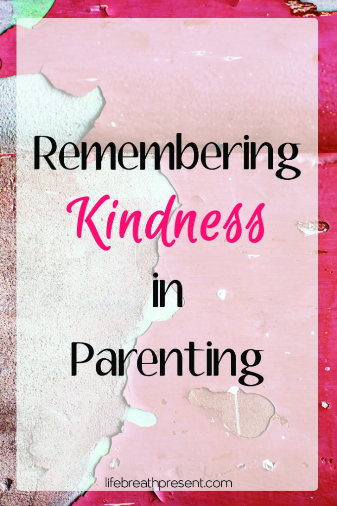 kindness, parenting, collecting moments, kindness series