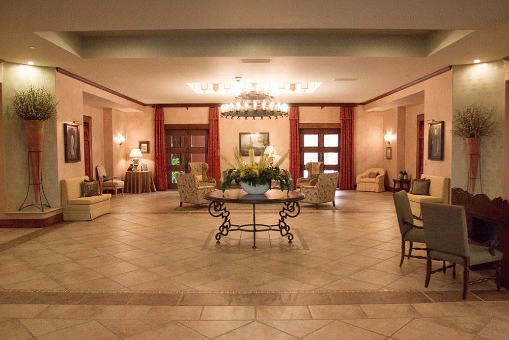 Hotel Granduca Entrance