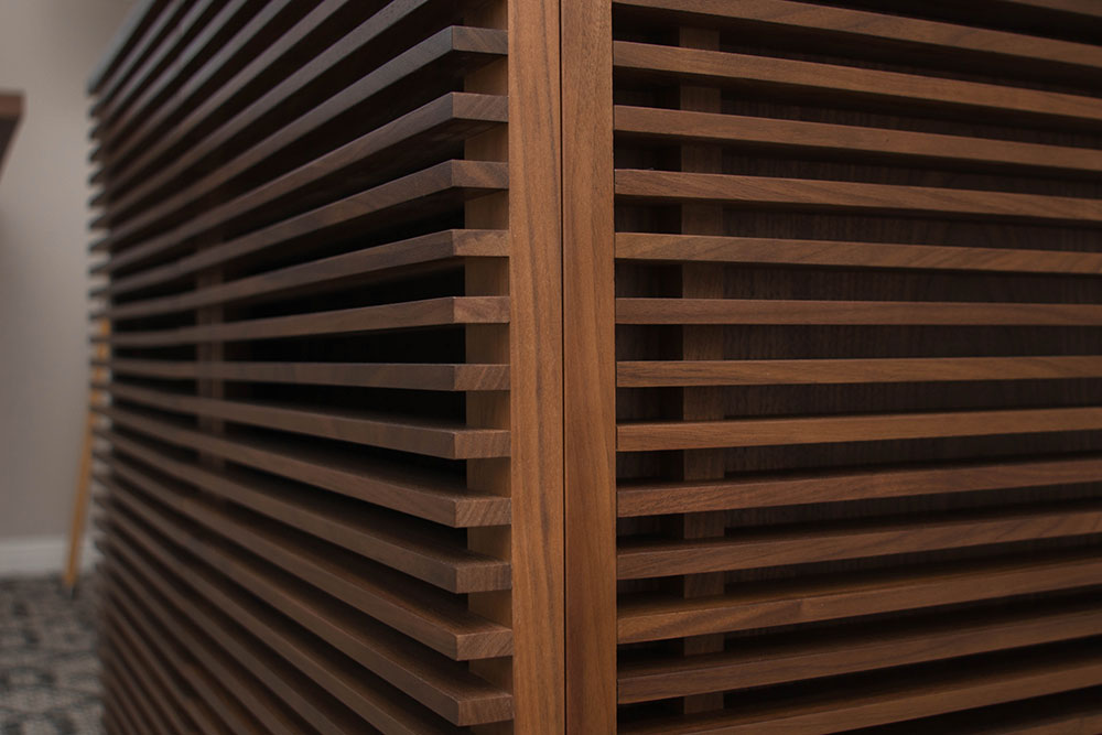 Line File Credenza - Design Within Reach - Nathan Yong - Detail