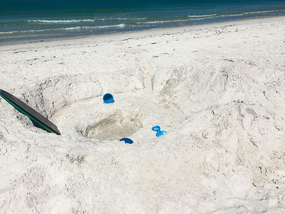 Hotel Zamora - Beach Living Room - St. Pete Beach Florida
