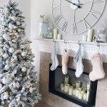Pink Christmas Tree Girls Room Novocom Top