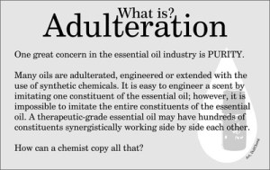 What is adulteration