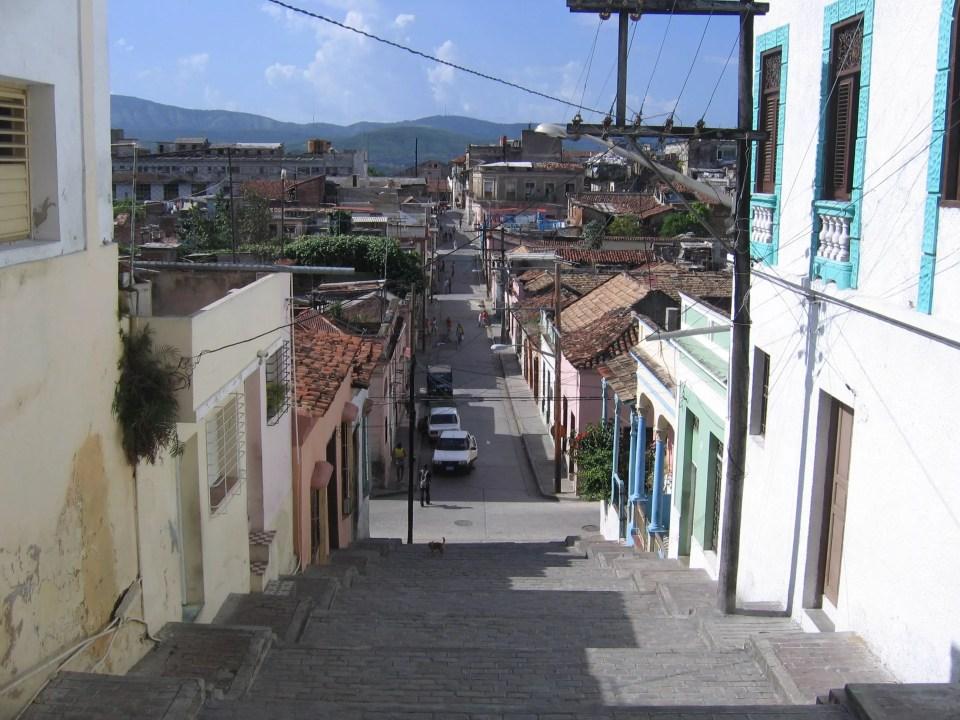 Straatbeeld cuba