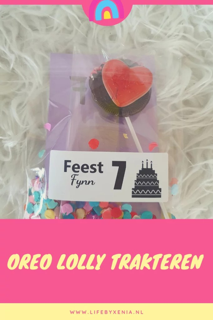 Oreo Lolly Trakteren