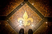 SAINTS on the floor!