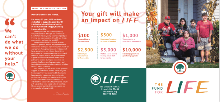 LIFE Annual Appeal 2020 page 1