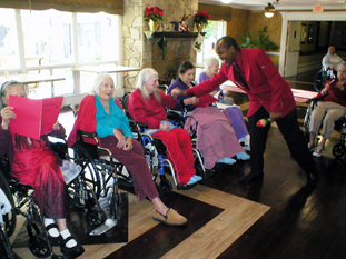 Visiting the Elderly