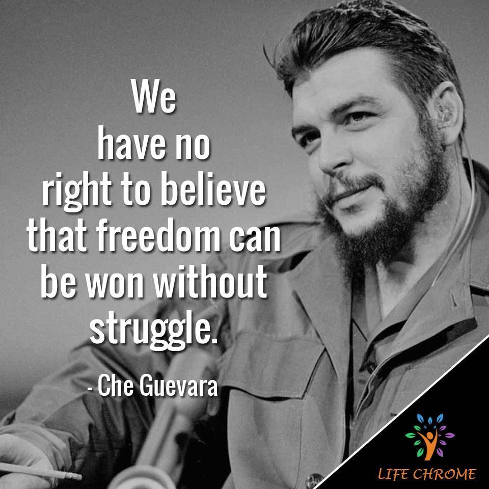 Che Guevara Quotes (Best 80) | Famous People's Quotes Series