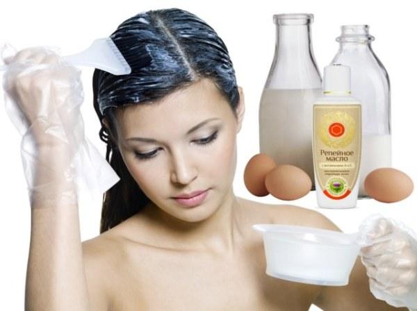 Маска для волос с маслом и яйцом – полезные свойства и ...