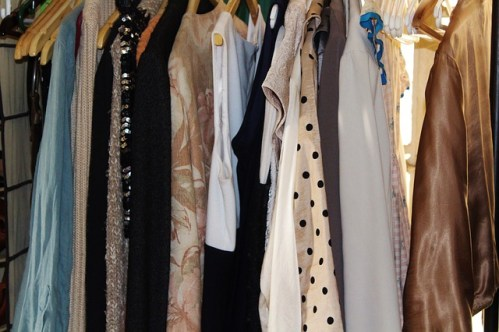 womens clothing clean out closet