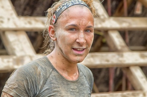 woman overcoming challenge obstacle