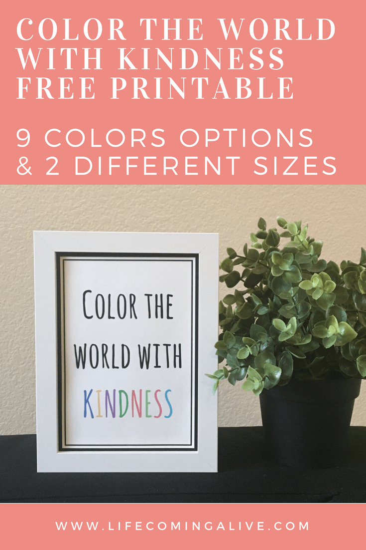 - FREE Color The World With Kindness Printable - LIFE COMING ALIVE