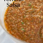 Roasted Tomato Salsa - the best salsa ever!