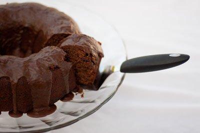 choc cinnamon cake