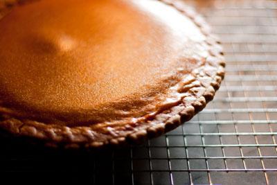 Pacific Northwest Thanksgiving 2010 Menu pumpkin pie
