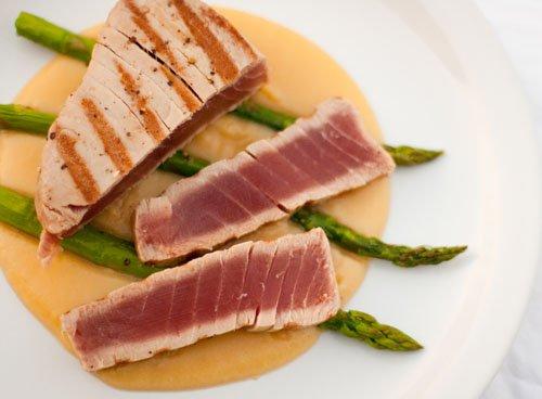 seared albacore tuna