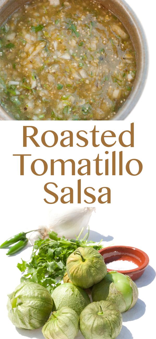 Roasted Tomatillo Salsa Recipe