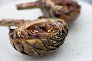grill artichokes