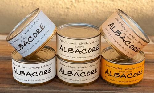 Island Trollers Albacore Tuna Chowder, fresh and delicious!