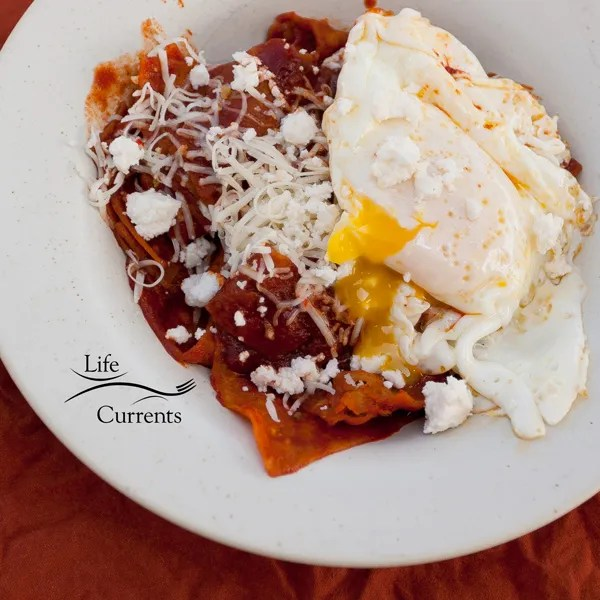 Chilaquiles (aka... breakfast nachos!) #breakfast #nachos #Mexican
