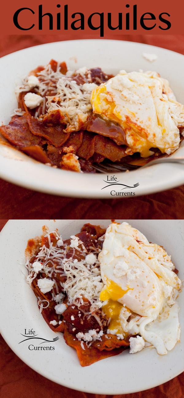 Chilaquiles (aka... breakfast nachos!) #breakfast #nachos #Mexican