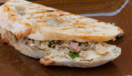 Island Trollers Tuna Melt with Havarti Cheese | Life Currents https://lifecurrentsblog.com Grilled Cheese Sandwich
