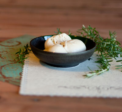 honey rosemary ice cream