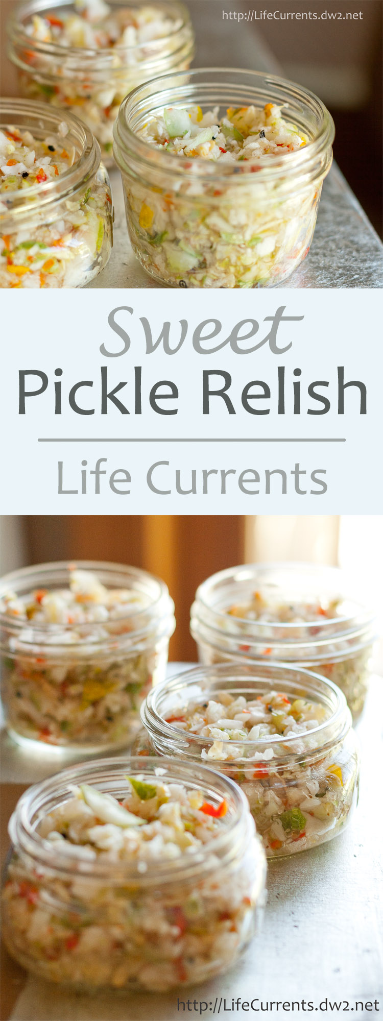 Sweet Pickle Relish - try making your own to kick up your burgers and dogs all summer long!