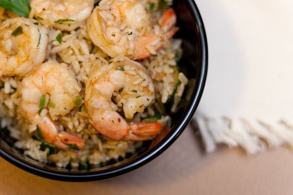 Cajun Shrimp with Rice weeknight easy healthy quick dinner seafood shrimp