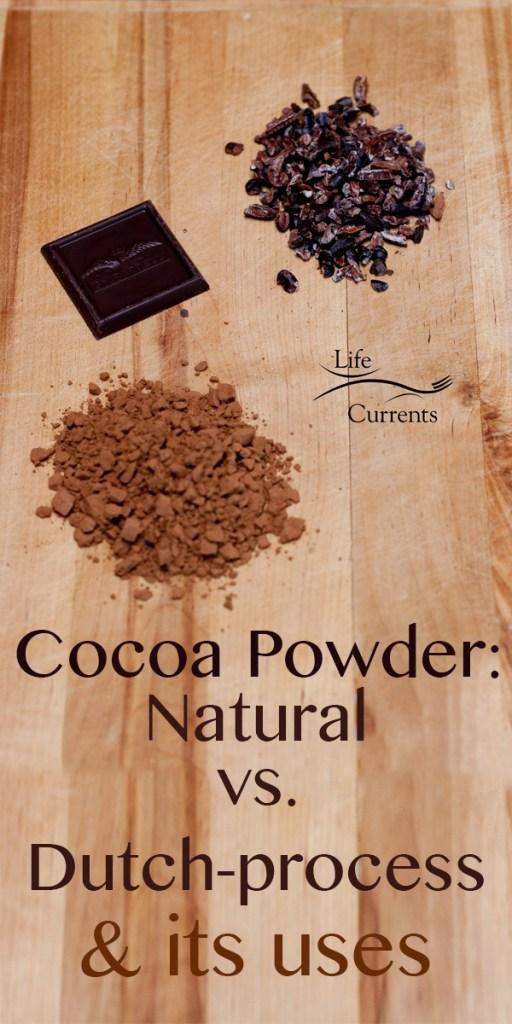 Cocoa Powder: Natural vs. Dutch-process & its uses