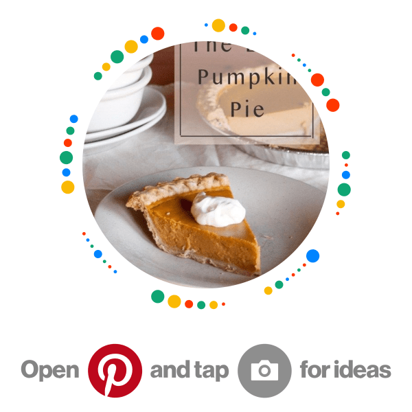 This is the best Pumpkin Pie ever, seriously! Pincode for desserts board
