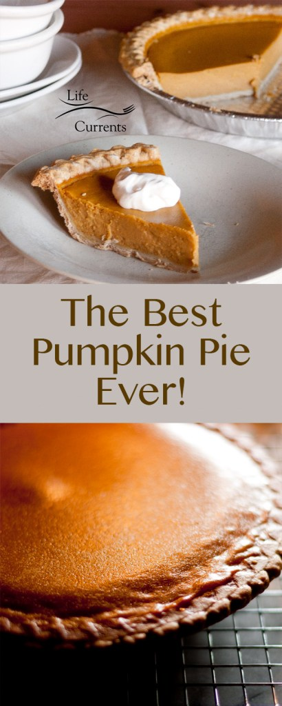 This is the best Pumpkin Pie ever, seriously! Try it this holiday season, you'll be glad you did!