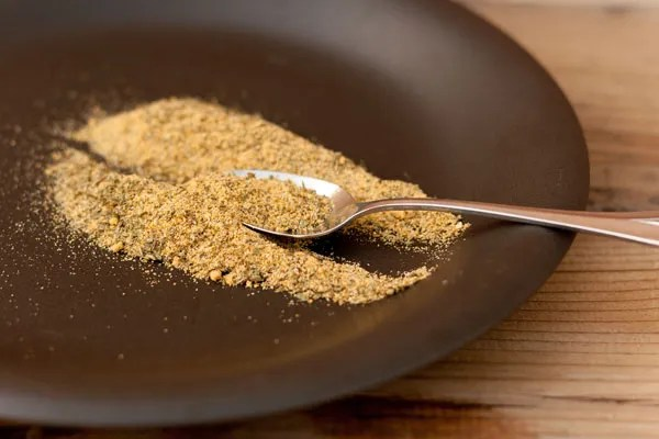 Instant Vegetarian Broth Mix made from dried spices and herbs from your cupboard and it's vegan, salt free, gluten-free, and yummy