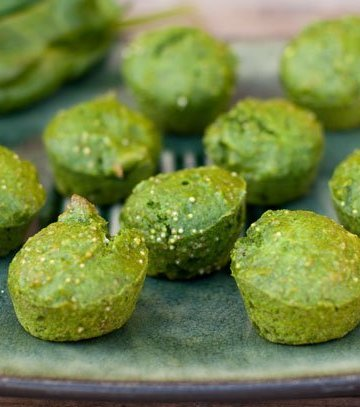 spinach quinoa muffins to help restore and rejuvenate