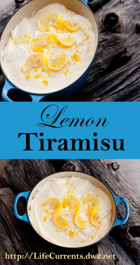 Lemon Tiramisu - Light and airy, this special dessert is perfect to end any meal.